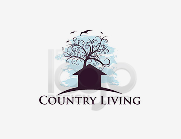 Country Living Landscaping Logo Design - DreamLogoDesign