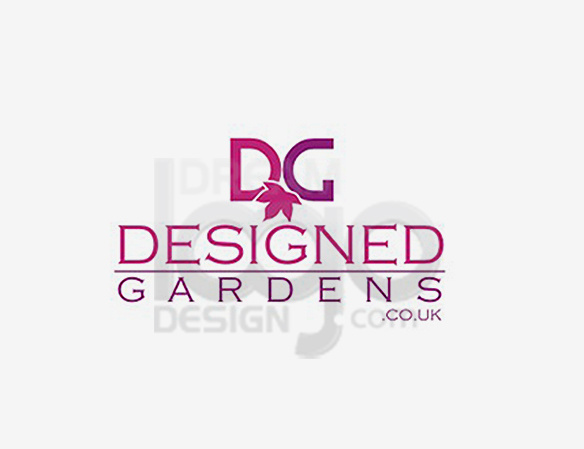 Designed Gardens Landscaping Logo Design - DreamLogoDesign