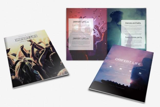 Media Kit Design Portfolio 2 - DreamLogoDesign