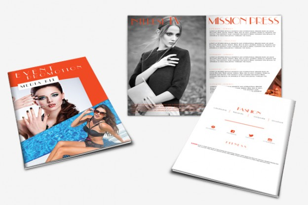 Media Kit Design Portfolio 3 - DreamLogoDesign