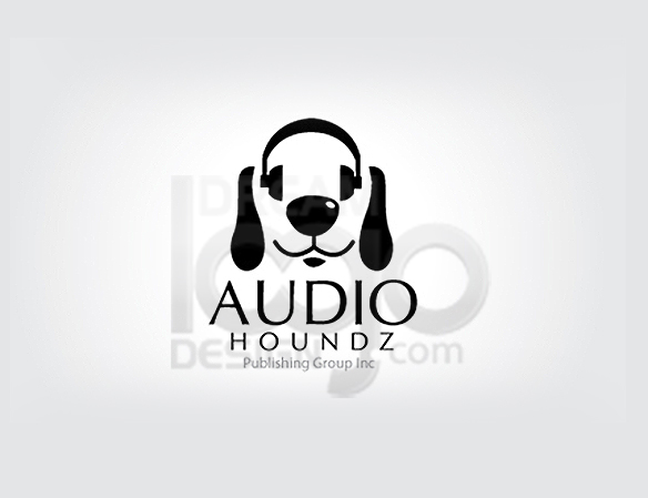 Audio Houndz Musician Logo Ideas - DreamLogoDesign