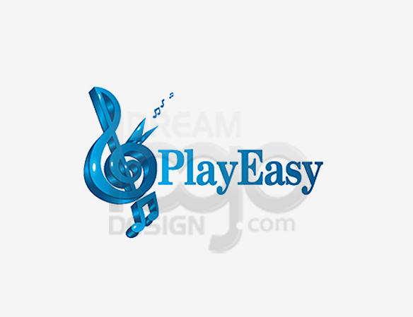 Play Easy Music Logo Design - DreamLogoDesign