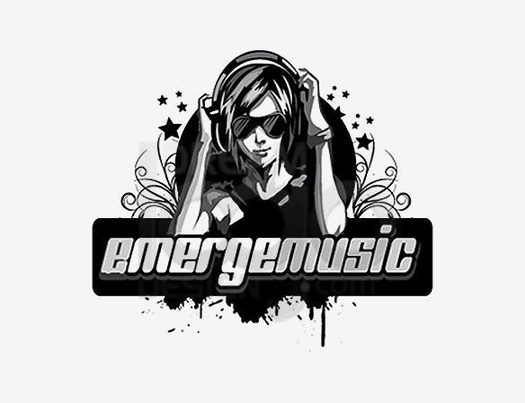 Emerge Music Logo Design - DreamLogoDesign