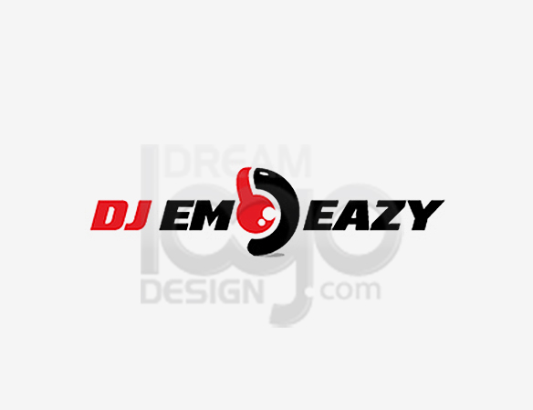 DJ Emo Easy Music Logo Design - DreamLogoDesign