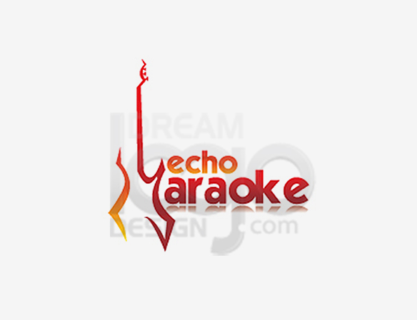 Echo Karaoke Music Logo Design - DreamLogoDesign