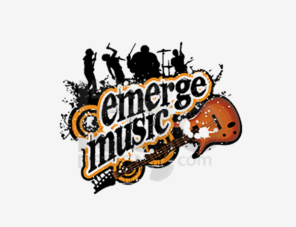 Emerge Music Logo Design - DreamLogoDesign