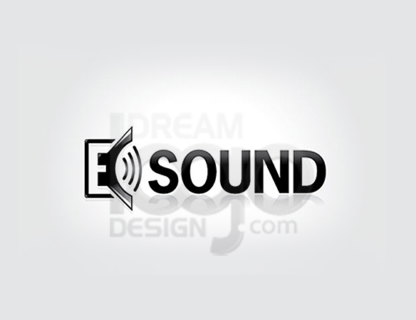 E Sound Music Logo Design - DreamLogoDesign