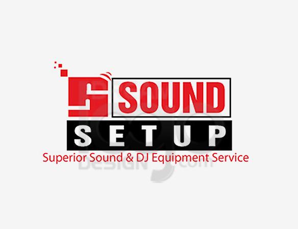 Superior Sound & DJ Equipment Service Music Logo Design - DreamLogoDesign