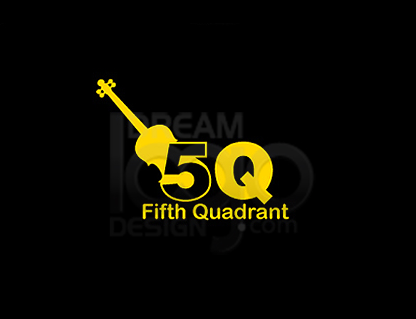 Fifth Quadrant Music Logo Design - DreamLogoDesign