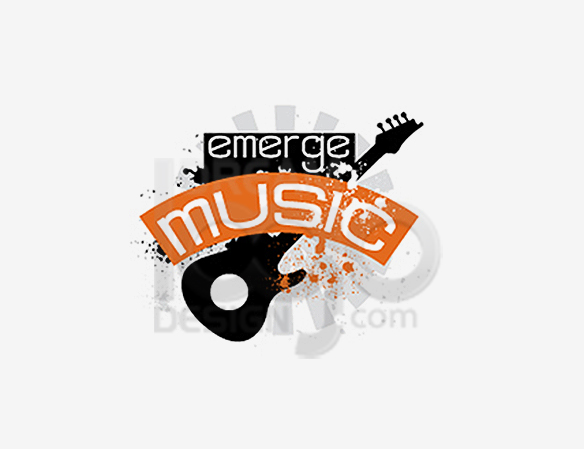 Emerge Music Music Logo Design - DreamLogoDesign
