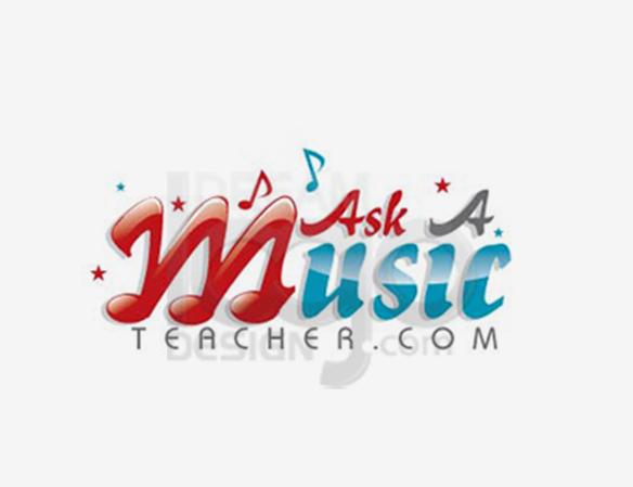 Ask a Music Teacher Logo Design - DreamLogoDesign