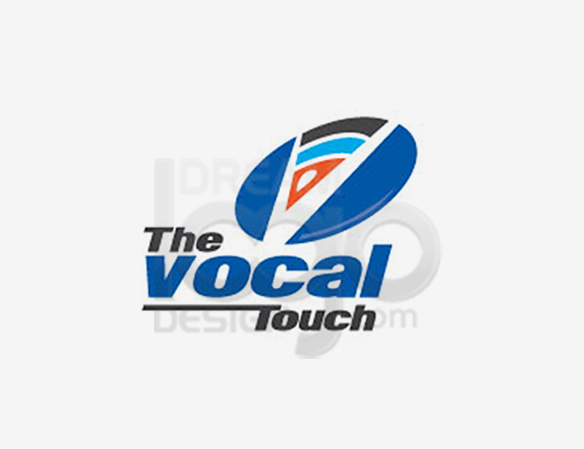 The Vocal Touch Music Logo Design - DreamLogoDesign