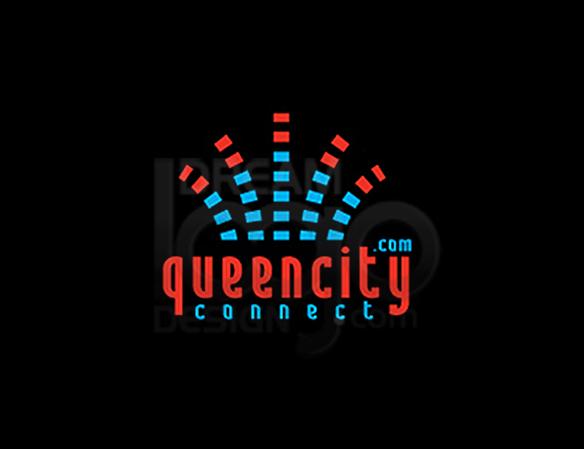 Queencity Connect Music Logo Design - DreamLogoDesign