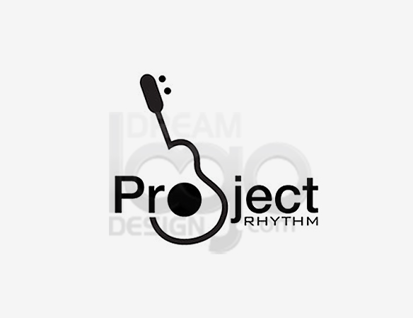Project Rhythm Music Logo Design - DreamLogoDesign
