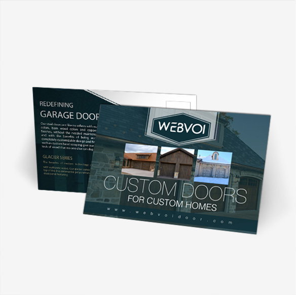 Custom Post Card Design Portfolio 4 - DreamLogoDesign
