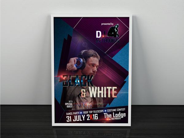 Custom Poster Design Portfolio 4 - DreamLogoDesign