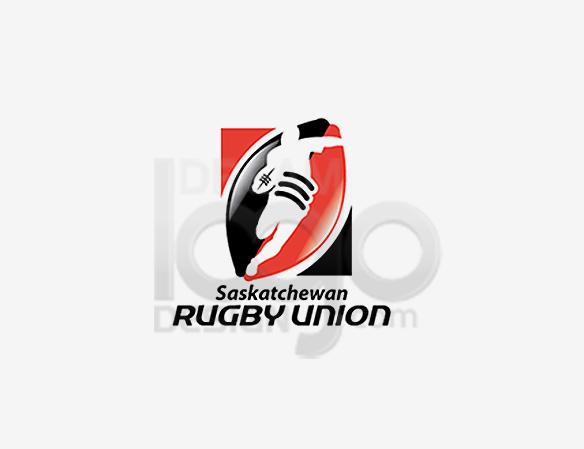 Saskatchewan Rugby Union Sports Logo Design - DreamLogoDesign