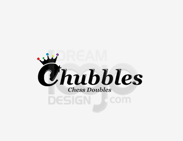 Chubbles Chess Doubles Sports Logo Design - DreamLogoDesign