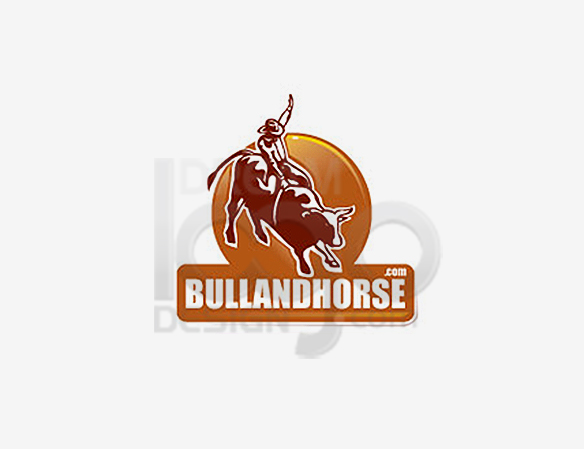 Bull And Horse Sports Logo Design - DreamLogoDesign