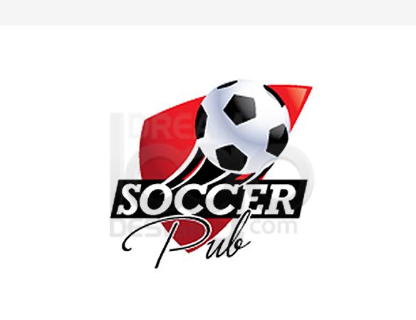 Soccer Pub Sports Logo Design - DreamLogoDesign