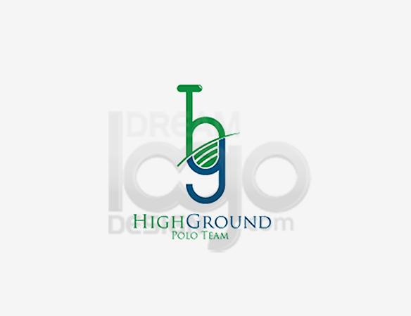 High Ground Polo Team Sports Logo Design - DreamLogoDesign