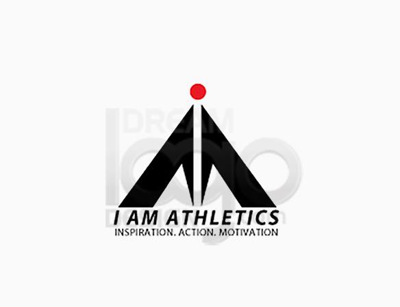 I Am Athletics Sports Logo Design - DreamLogoDesign