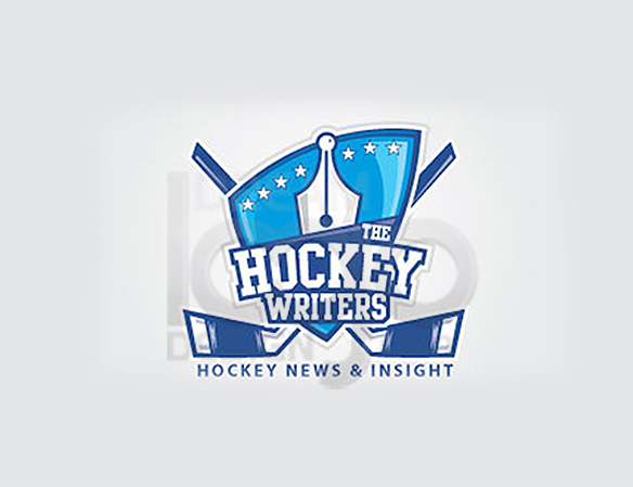 The Hockey Writers Sports Logo Design - DreamLogoDesign