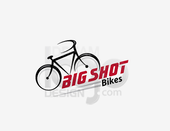 Big Shot Bike Sports Logo Design - DreamLogoDesign