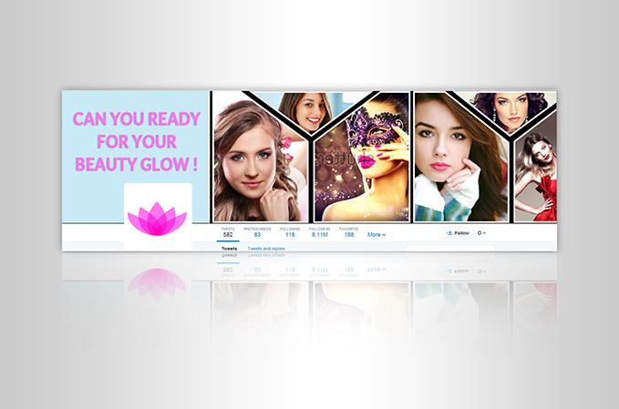 Custom Twitter Banner Design Portfolio 5 - DreamLogoDesign