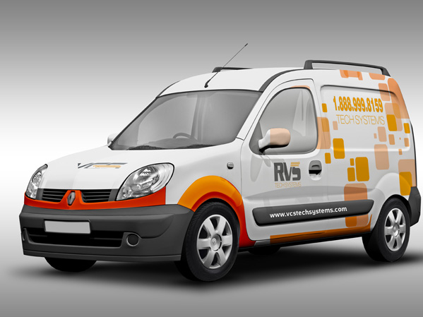 Vehicle Wrap Design Portfolio 3 - DreamLogoDesign