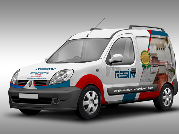 Vehicle Wrap Design Portfolio 4 - DreamLogoDesign