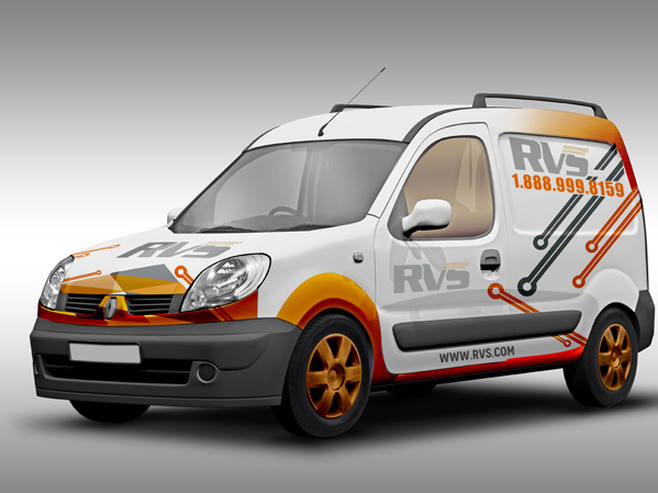 Vehicle Wrap Design Portfolio 5 - DreamLogoDesign