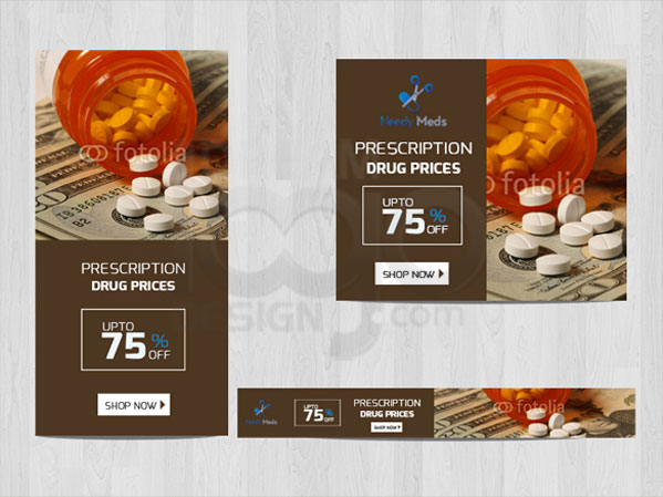 Web Banner Design Portfolio 1 - DreamLogoDesign