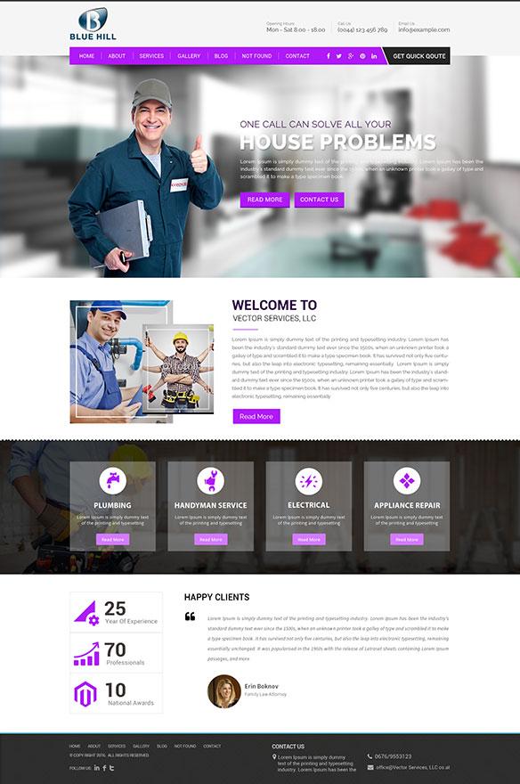 Web Design Portfolio 12 - DreamLogoDesign