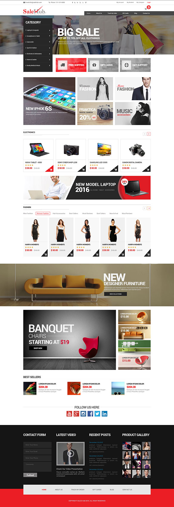 Web Design Portfolio 18 - DreamLogoDesign
