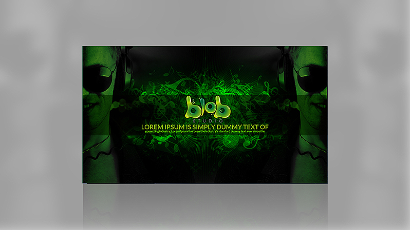 YouTube Background Design Portfolio 5 - DreamLogoDesign